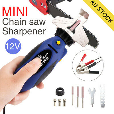 12V Chain Saw Sharpener Chainsaw Electric Grinder File Pro Tools AU