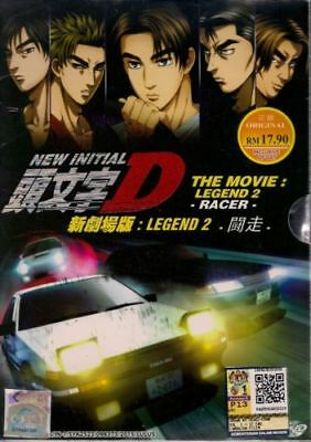 DVD New Initial D The Movie: Legend 2-Racer English Subtitle + Free Shipping