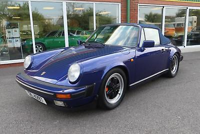 1985 Porsche 911 Carrera 3.2 Cabriolet manual classic car