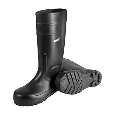 "Tingley 31151.10 31151 15"" General Purpose PVC Work Boots, black, 10"