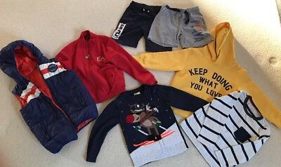 Quality Boys Bundle With Christmas Jumper Age 4-6