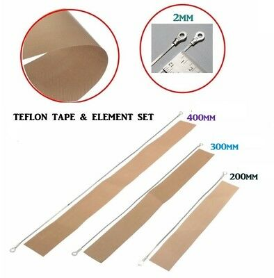 New Impulse Heat Sealer Quality Teflon Strip And Element Spares Kit - Cheapest
