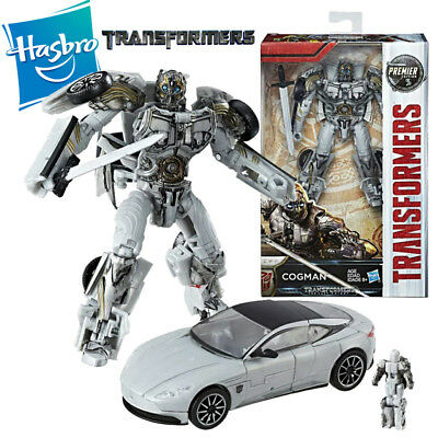 Hasbro Transformers Cogman The Last Knight Premier Edition Deluxe Action Figure