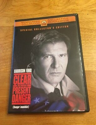 Clear and Present Danger (DVD, Special Collector's Edition) Harrison Ford