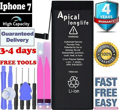 """LONGLIFE Brand New Replacement battery compatible For  iPhone 7 4.7""""  1960 mAh"""