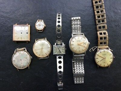 Lote Duward watch relojes reloj vintage #4133 lot joblot trabajo