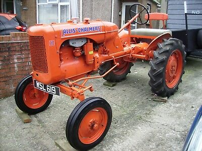 allis chalmers  model b with no reserve