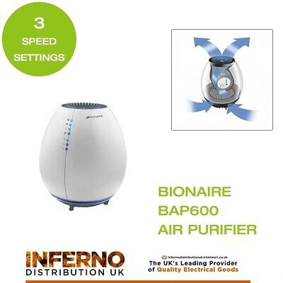 BIONAIRE F-100 AIR Purifier Ionizer Filter Cleaner Fan