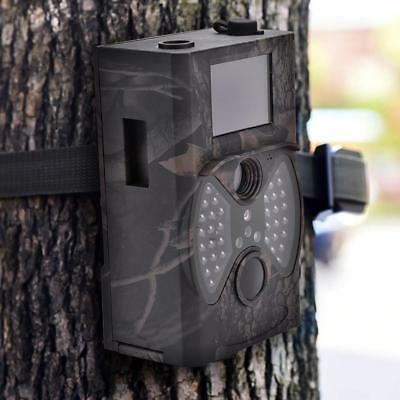 12Mp 1080P Hd Fototrappola Videocamera Infrarossi Invisibile Hunting Camera