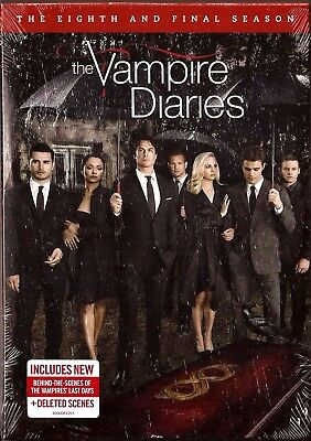 The Vampire Diaries Complete Season 8 - DVD TV Shows Eighth Final BRAND NEW