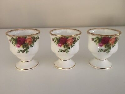 Royal Albert OLD COUNTRY ROSES Egg Cups. Made In England