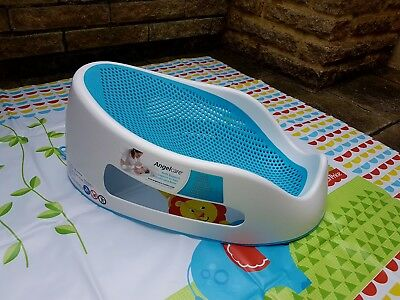Angelcare soft touch bath seat - aqua