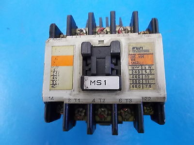 Fuji Electric Contactor, Type SC-5-1, 4NC0H0