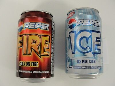 Pepsi Cola Fire & Ice***full Cans***from Durban South Arfica