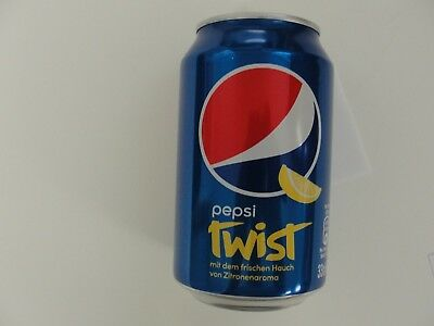 Pepsi Cola Twist Can Full Never Opened From Switzerland