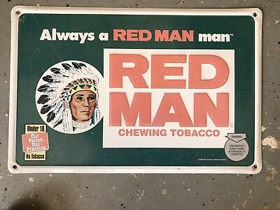 Red Man Tobacco Sign (1996)
