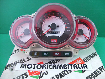 APRILIA 8224280 Rally 50 H20 cruscotto CONTACHILOMETRI SPEEDOMETER dashboard