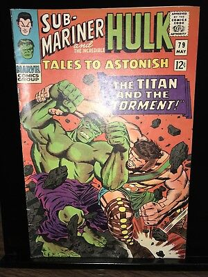 Tales To Astonish #79, MINT,  Hulk, Sub Mariner And Hercules, Silver Age