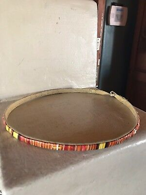 Very Nice Vintage / Old Quill Hat Band N R.