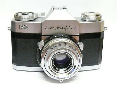 ZEISS IKON CONTAFLEX 'RAPIDE' or  RAPID + 50MM F2.8 TESSAR