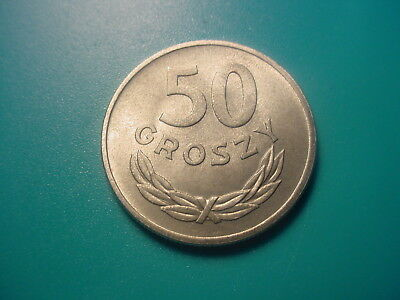Poland 1957 50-Groszy In Nice Uncirculated Condition
