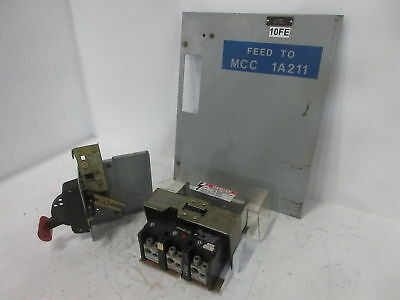 GE 8000 Series 300 Amp Main Breaker Type MCC Feeder Bucket 300A General Electric