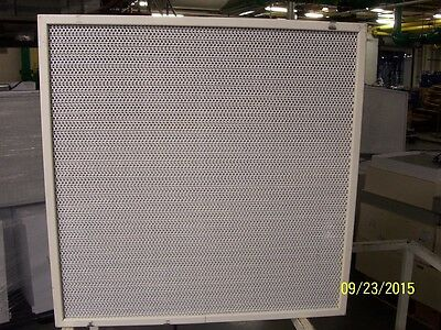 2 Total ENVIRCO HEPA AIR PURIFIER approx. 2' x 2', airflow 388CFM @ 100FPM