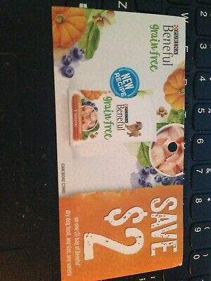 COUPONS - Save $2 ON PURINA BENEFUL DRY DOG FOOD - CANADA ONLY  9 Coupons