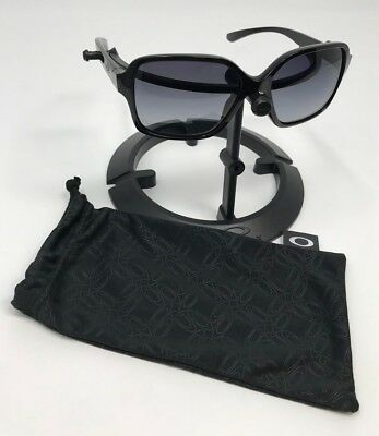 5c9e2b2ef8d49 new zealand oakley womens proxy sunglasses polished blackgrey lens polarized  oo9312 04 131db 5110f
