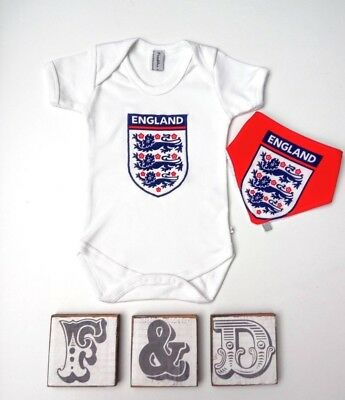 England Football baby bodysuit, world cup babygrow, new with tags