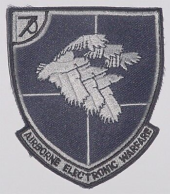 Aufnäher Patch Abzeichen US Air Force Airborne Electronic Warfare .......A2651