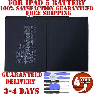 New Battery compatible For iPad 5th Air 1 A1474 A1475 A1485 8827mAh With Tools