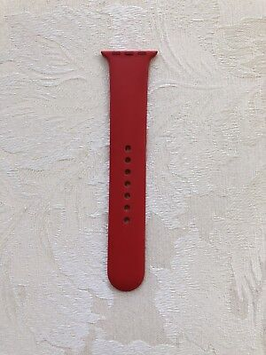 Authentic Product Red Apple Watch Sport M/L Band Only 38mm Band