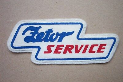traktor patch zetor Service Aufnäher sticker schlepper trecker bulldog Landwirt