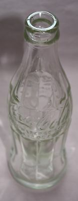 Rare/Vintage  COCA-COLA / COKE Hobble Skirt BOTTLE -Clear 6 oz from Canada 1948