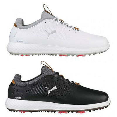 NEW 2018 Mens Puma Ignite PWRADAPT Leather Golf Shoes - Choose Your Size    Color 05becb43c