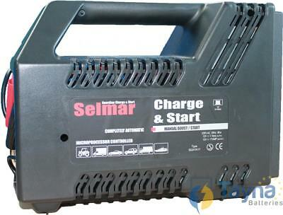 Selmar Guardian Charge & Start Batterie Charger 12V 7A/17A