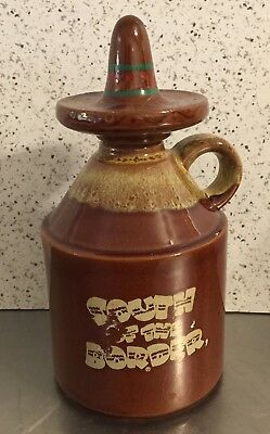 South of the Border Sombrero Jug Hot Sauce Container Souvenir S Carolina Vintage
