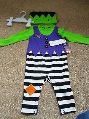 Fancy dress Halloween childrens size 6-9 month Frankenstein