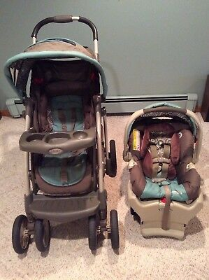 Graco Baby Stroller With Click Connect Car Seat And Base