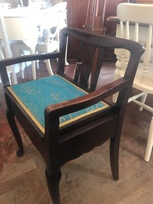 Antique Piano Stool -Delivery Available -SC426