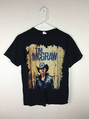 Unisex Small Tim McGraw 2012 Brothers Of The Sun Country Music Tour Tee Shirt