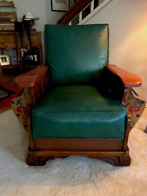 Vintage California Rancho Monterey Sofa Sleeper And Easy Chair