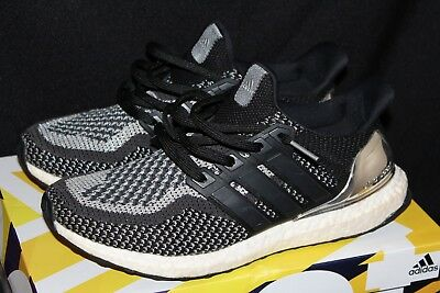 430d4cab2cbe ADIDAS ULTRA BOOST 2.0 Limited Silver Medal BB4077 Men s Size 9.5 ...