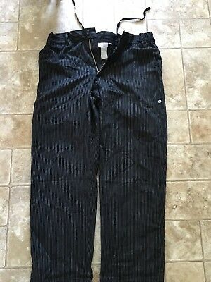 Stripped Chef Pants