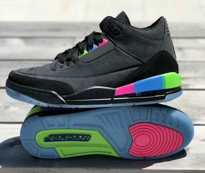 3475fbc78c3890 Nike Air Jordan 3 III Retro Se Q54 quai 54 paris AT9195-001 black pink