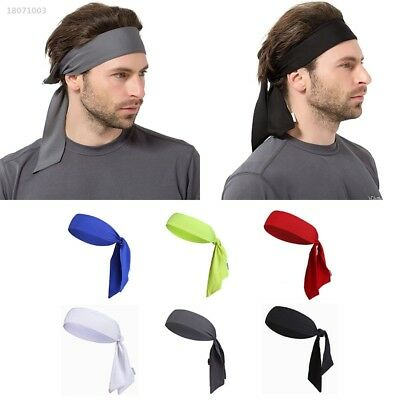 Outdoor Sports Running Tennis Yoga Gym Sweatband Headband Wrap Bandana 53C7
