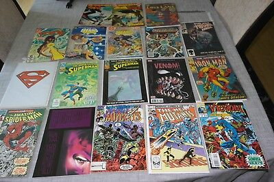 Comic Book Lot, Silver Age- Modern, Iron Man/Batman/Spider-Man/Superman/Venom