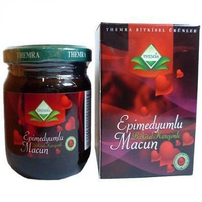 240 gr Themra Epimedium Paste  - Horny Goat Weed, Ginseng Herbal Aphrodisiac