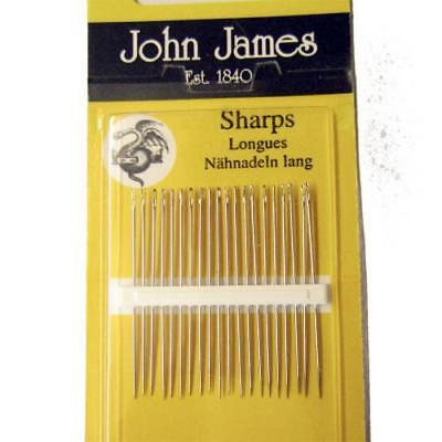 Pack of 20 Sharp Needles Size 6